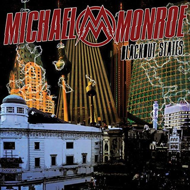Michael Monroe BLACKOUT STATES Vinyl Record - UK Import