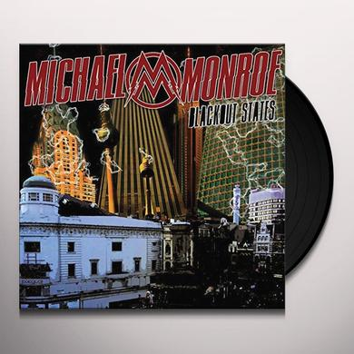 Michael Monroe BLACKOUT STATES Vinyl Record - UK Release