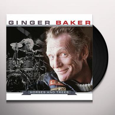 Ginger Baker HORSES & TREES Vinyl Record - 180 Gram Pressing, Holland Import