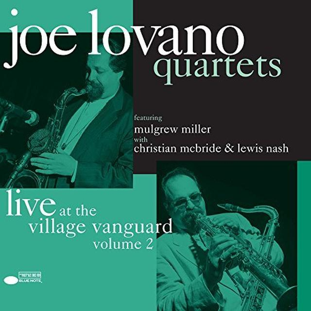 Joe Lovano QUARTETS: LIVE AT THE VILLAGE VANGUARD VOL 2 Vinyl Record
