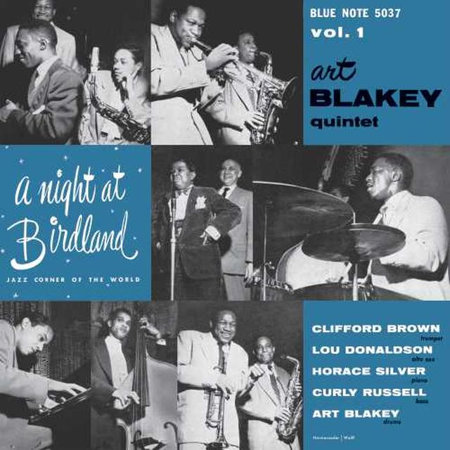 NIGHT AT BIRDLAND WITH ART BLAKEY QUINTET VOL 1 Vinyl Record
