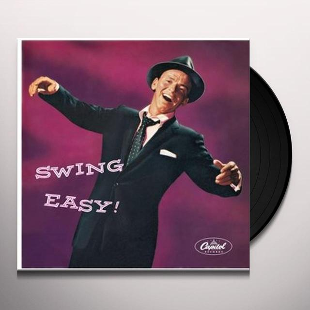 Frank Sinatra SWING EASY Vinyl Record - 10 Inch Single