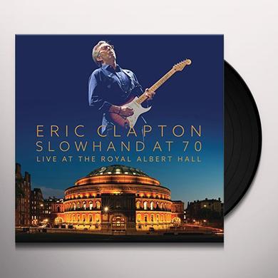 Eric Clapton SLOWHAND AT 70 - LIVE AT THE ROYAL ALBERT HALL Vinyl Record