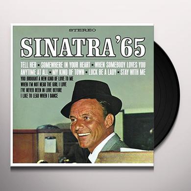 Frank Sinatra SINATRA 65 Vinyl Record