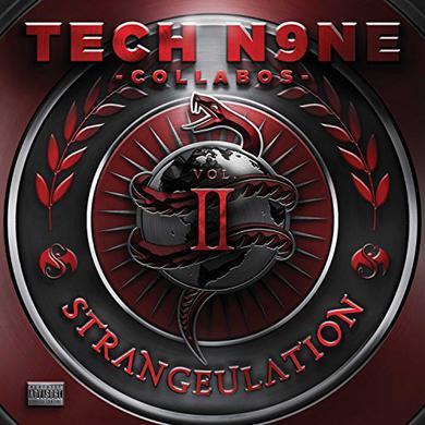 Tech N9Ne Collabos STRANGEULATION VOL II Vinyl Record