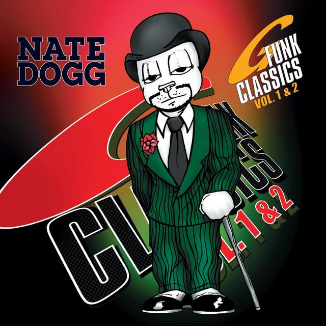 Nate Dogg G FUNK CLASSICS VOLUMES 1 & 2 Vinyl Record