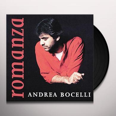Andrea Bocelli ROMANZA Vinyl Record