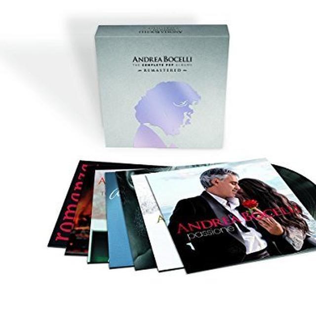 Andrea Bocelli COMPLETE POP VINYL ALBUMS BOX SET Vinyl Record