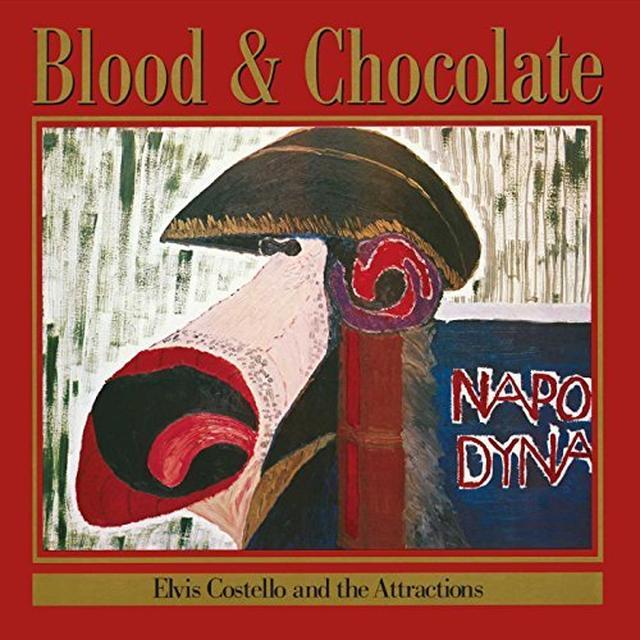 Elvis Costello BLOOD & CHOCOLATE Vinyl Record