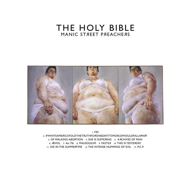 Manic Street Preachers HOLY BIBLE Vinyl Record