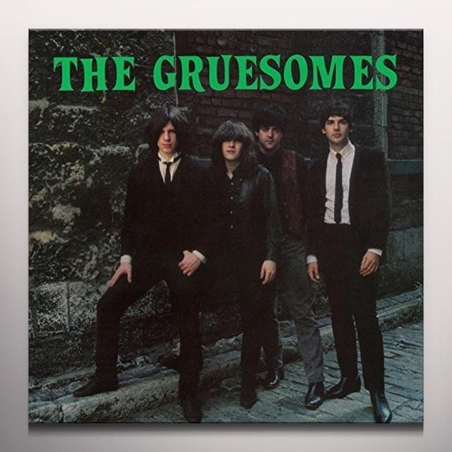 GRUESOMES GRUESOMANIA Vinyl Record - Colored Vinyl, Green Vinyl