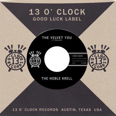 Noble Krell VELVET YOU / NOT THE SUN Vinyl Record