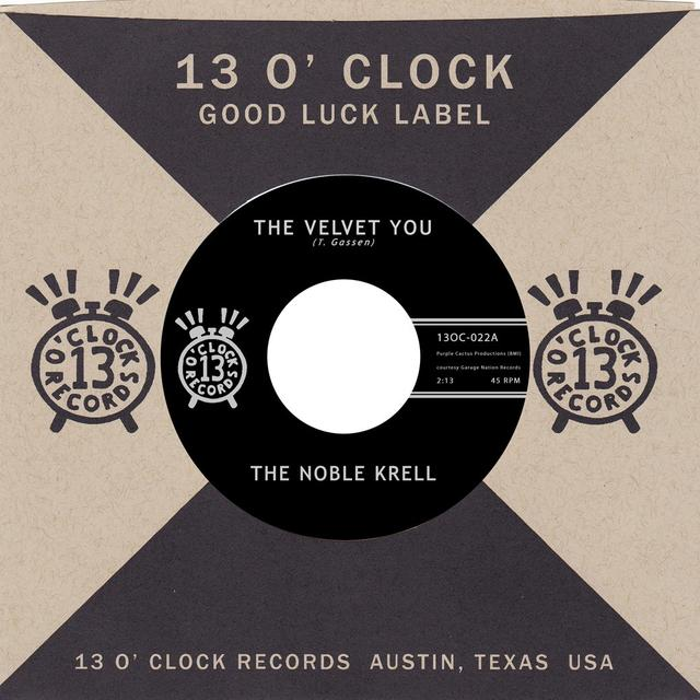 Noble Krell VELVET YOU / NOT THE SUN Vinyl Record - Digital Download Included