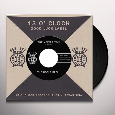 Noble Krell VELVET YOU / NOT THE SUN Vinyl Record - Digital Download Included
