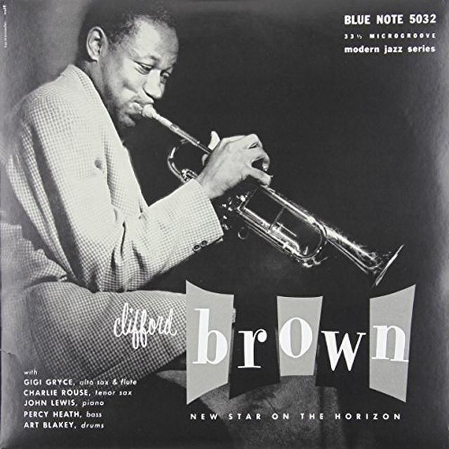 Clifford Brown NEW STAR ON THE HORIZON Vinyl Record
