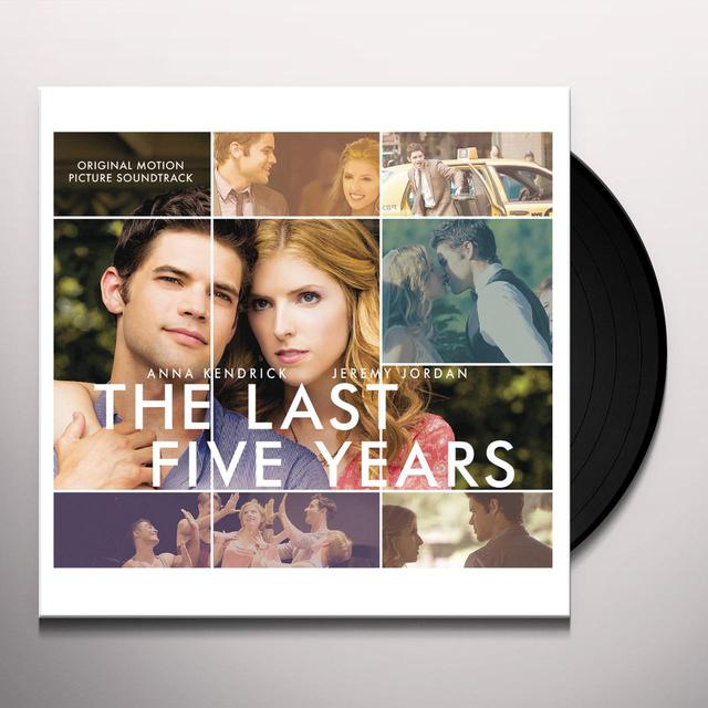 Anna Kendrick / Jeremy Jordan LAST FIVE YEARS / O.S.T. Vinyl Record - Gatefold Sleeve