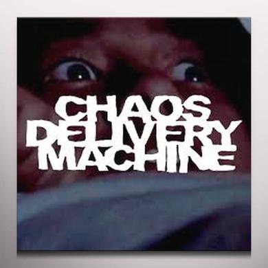 CHAOS DELIVERY MACHINE BURN MOTHER FUCKER BURN Vinyl Record - Gatefold Sleeve, 180 Gram Pressing, White Vinyl