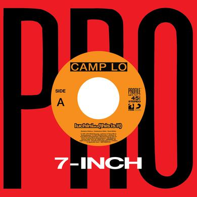 Camp Lo LUCHINI AKA (THIS IS IT) / SWING Vinyl Record