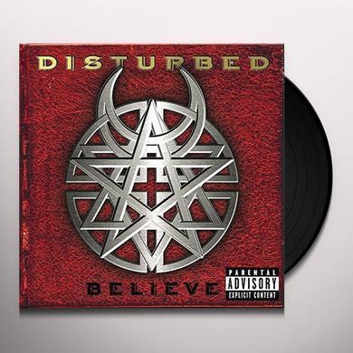 Disturbed BELIEVE Vinyl Record