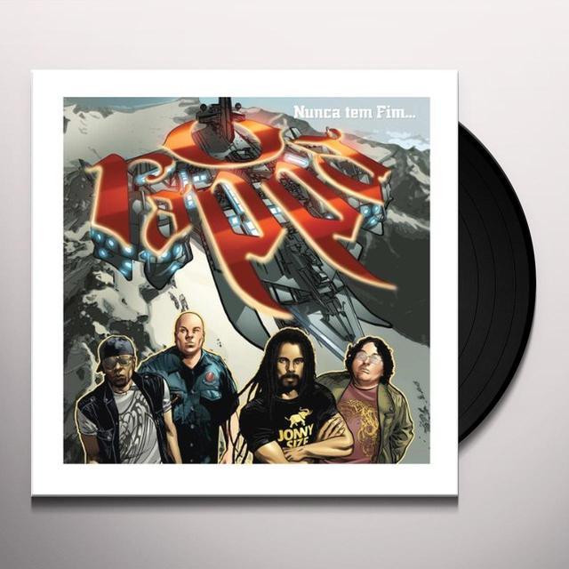 O Rappa NUNCA TEM FIM Vinyl Record - Brazil Import