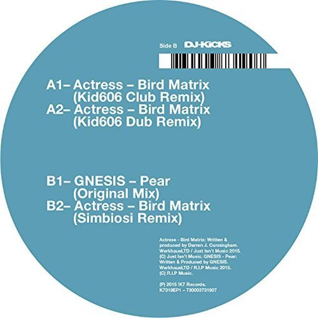 Actress BIRD MATRIX (REMIXES) Vinyl Record - UK Import