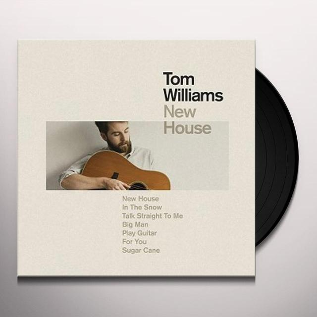 Tom Williams NEW GUITAR/NEW HOUSE Vinyl Record - UK Release