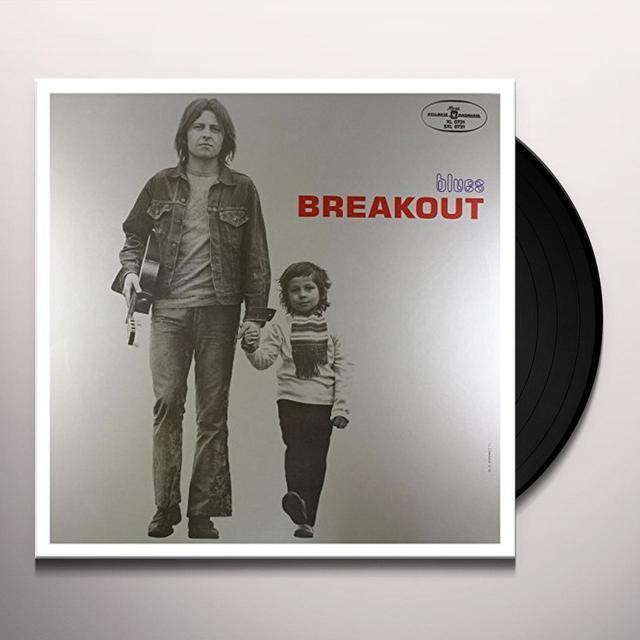 Breakout BLUES Vinyl Record - Portugal Import
