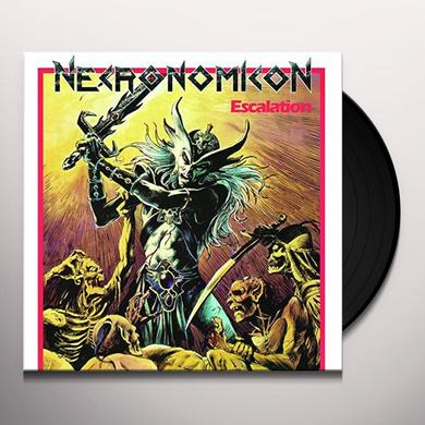 Necronomicon ESCALATION Vinyl Record - Portugal Release