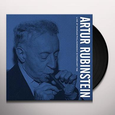 Arthur Rubinstein LIVE AT WARSAW PHILHARMON Vinyl Record