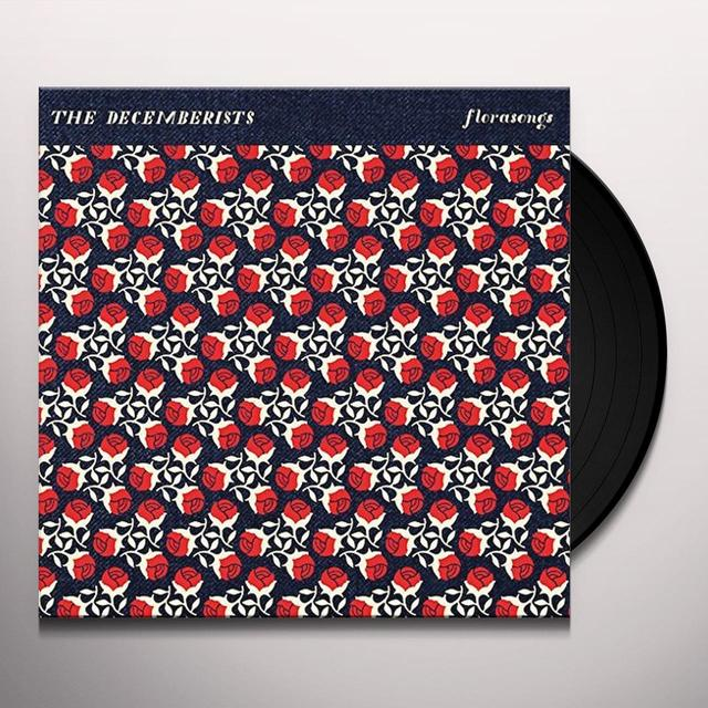 The Decemberists FLORASONGS Vinyl Record - 10 Inch Single, UK Release