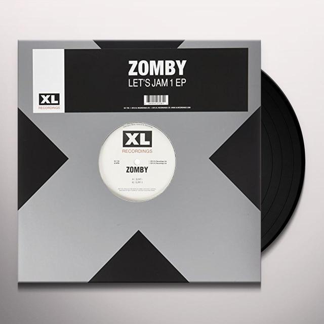 Zomby LETS JAM EP1 Vinyl Record - UK Import
