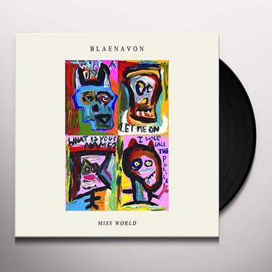 Blaenavon MISS WORLD EP Vinyl Record - UK Release
