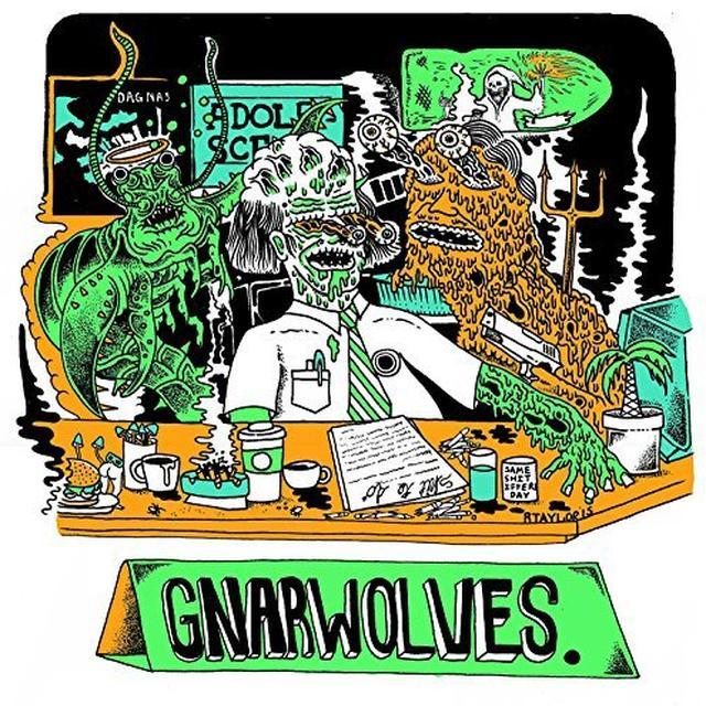 Gnarwolves ADOLESCENCE Vinyl Record