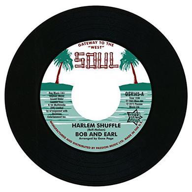 BOB & EARL / MEL & TIM HARLEM SHUFFLE / BACKFILED IN MOTION Vinyl Record