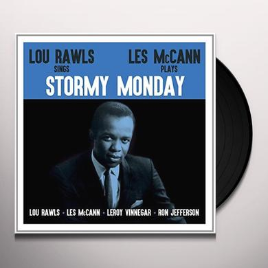Lou Rawls, Les McCann STORMY MONDAY Vinyl Record - UK Import