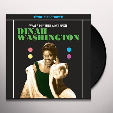 Dinah Washington WHAT A DIFFERENCE A DAY MAKES Vinyl Record