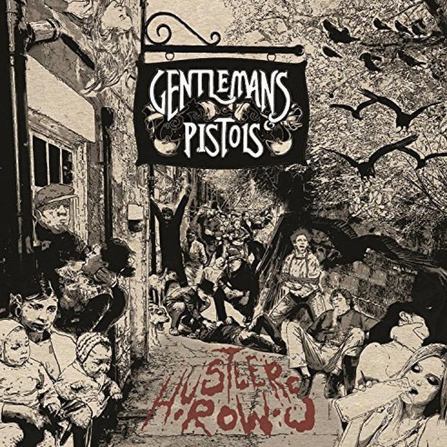 GENTLEMANS PISTOLS HUSTLER'S ROW Vinyl Record