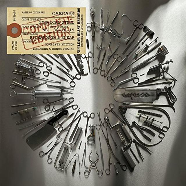 Carcass SURGICAL STEEL Vinyl Record - Holland Import