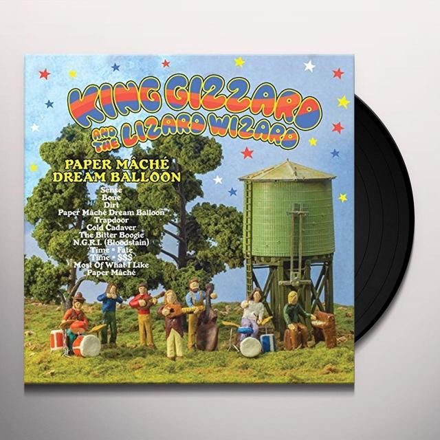 King Gizzard & The Lizard Wizard PAPER MACHE DREAM BALLOON Vinyl Record - UK Release