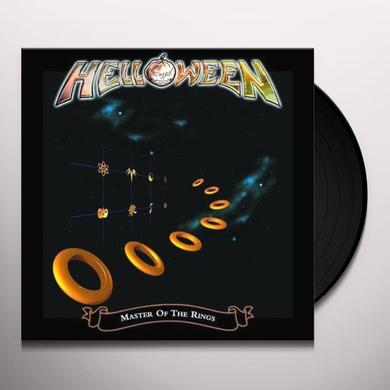Helloween MASTER OF THE RINGS Vinyl Record - UK Import