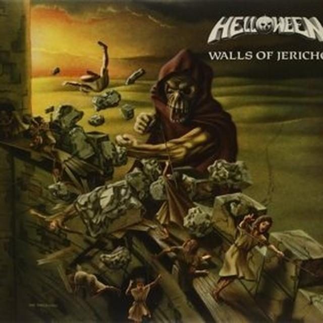 Helloween WALLS OF JERICHO Vinyl Record
