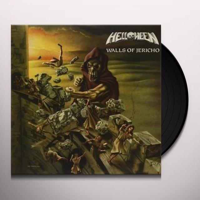 Helloween WALLS OF JERICHO Vinyl Record - UK Import
