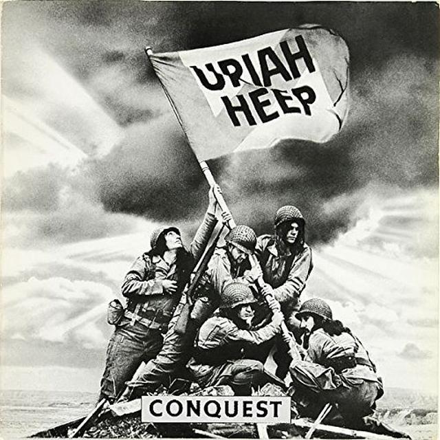 Uriah Heep CONQUEST Vinyl Record - UK Import