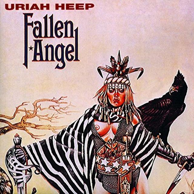 Uriah Heep FALLEN ANGEL Vinyl Record - UK Import
