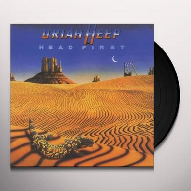 Uriah Heep HEAD FIRST Vinyl Record - UK Import