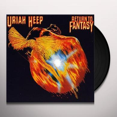 Uriah Heep RETURN TO FANTASY Vinyl Record - UK Import