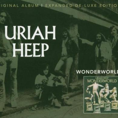 Uriah Heep WONDERWORLD Vinyl Record