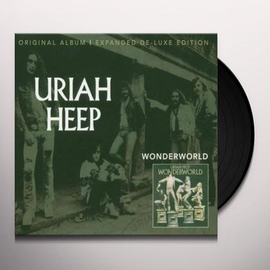 Uriah Heep WONDERWORLD Vinyl Record - UK Import
