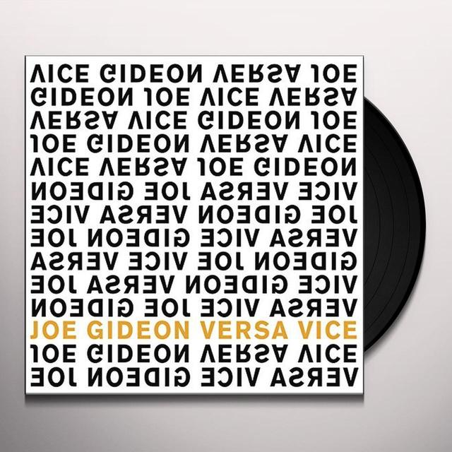 Joe Gideon VERSA VICE Vinyl Record