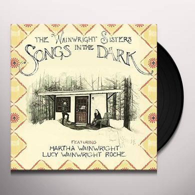 WAINWRIGHT SISTERS SONGS IN THE DARK Vinyl Record - UK Import